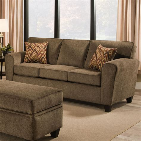 American Furniture Sofa by American Furniture 3100 Sofa With Casual Style Vandrie