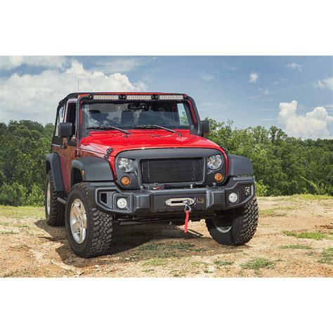 jeep jk grill rugged ridge 12034 01 spartan grille 07 16 jeep