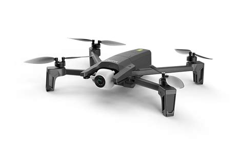 parrot anafi folding drone records  stabilized video