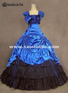 Us Postage Chart Brand New Royal Blue Southern Belle Victorian Ball Gowns