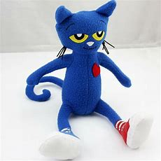 Pete The Cat Plush Doll 145 Inches New  Free Shipping Ebay