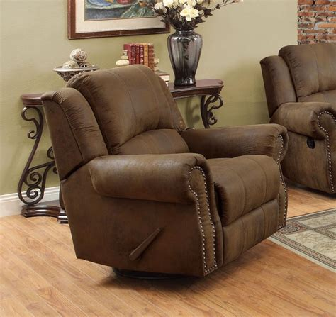 Rocker Recliner Swivel Chair by Sir Rawlinson Motion Collection Swivel Rocker Recliner