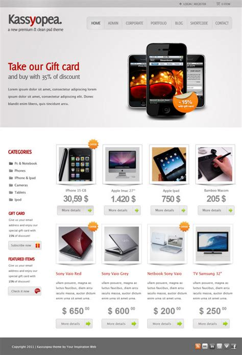kassyopea ecommerce wordpress theme