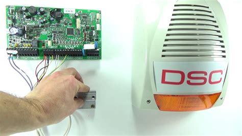 outdoor dsc bentel bell siren wiring paradox alarm panel evo magellan spectra youtube