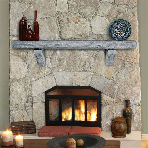 ranier 72 quot fireplace mantel shelf