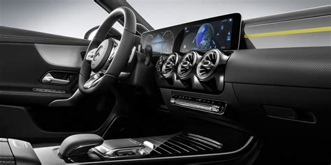 Mercedes car hatchback cars benz car top cars car model mercedes benz classes hot hatch benz a class dream cars. 2018 Mercedes-Benz A-Class interior revealed - Photos (1 of 11)