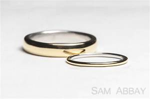 rings with liners new york wedding ring With platinum gold wedding rings