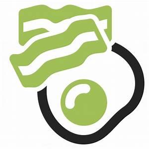 Fried Egg Bacon Icon & IconExperience - Professional Icons ...