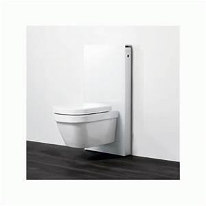 Geberit Monolith Wc : panneaux pour wc suspendu et wc lavant aquaclean sela monolith 101 geberit bricozor ~ Frokenaadalensverden.com Haus und Dekorationen
