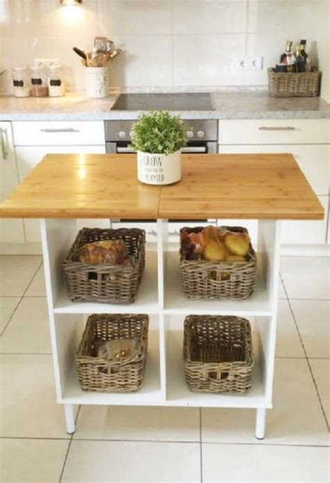 Kitchen Island With Open Storage by 20 Ikea Kitchen Island Hacks You Ll Comfydwelling