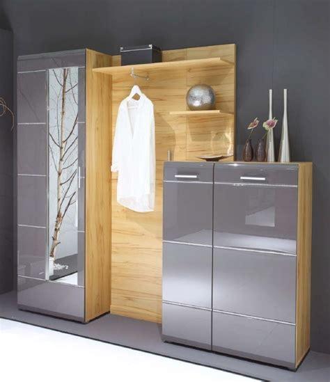 Ikea Schrank Garderobe by Garderobe Ornella Mit Schuhschrank Anthrazit Diele Flur