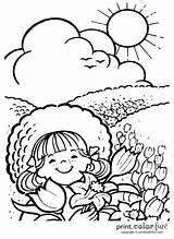 Sunny Coloring Pages Weather Drawing Outside Days Enjoying Sketch Happy Things Wear Printcolorfun Sunshine Template Fun sketch template