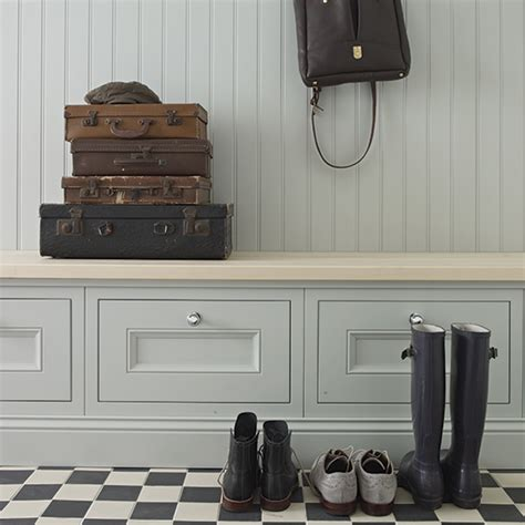 Monochrome House With Secrete Utility Room by The Boot Room