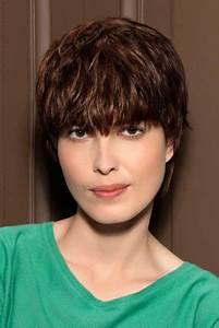 Coupe Cheveux Avec Frange : coiffure courte avec frange ~ Nature-et-papiers.com Idées de Décoration