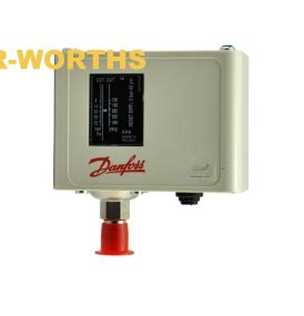 Danfoss High Low Auto Manual Reset Switch Pressure