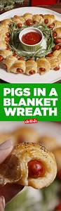 Pigs In A Blanket Wreath Recipe Christmas Eve Wreaths