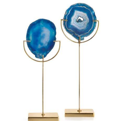 agate blue tealight