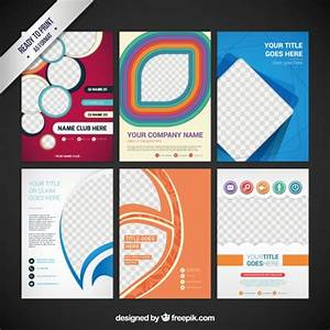 Collection of flyers vector free download for Flyer vector