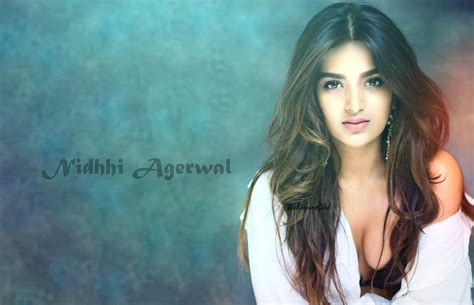 Nidhi Agarwal Images Nidhi Agarwal Hot Photos And Hd Wallpaper