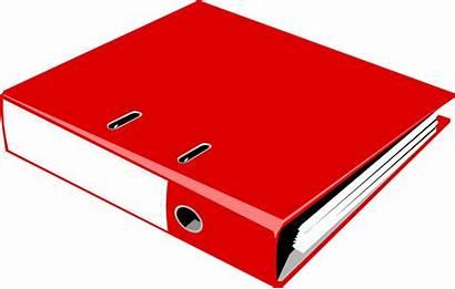 Binder Notebook Clipart Illustration Clip Ring Binders