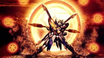 Burning Gundam Build Wallpapers Background