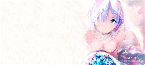 Dynamic Wallpaper Anime - rem re zero flowers dynamic wallpaper engine free