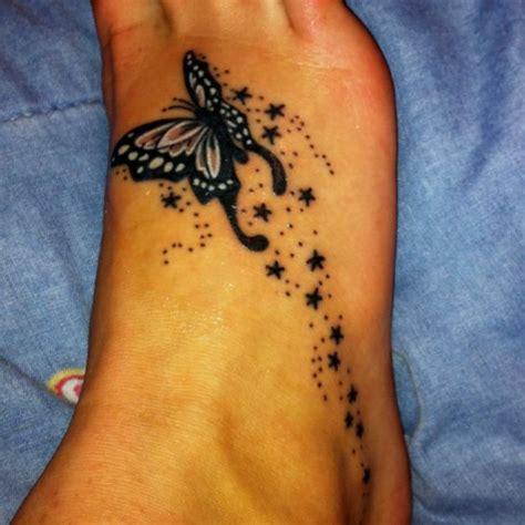 beautifully unique foot tattoos