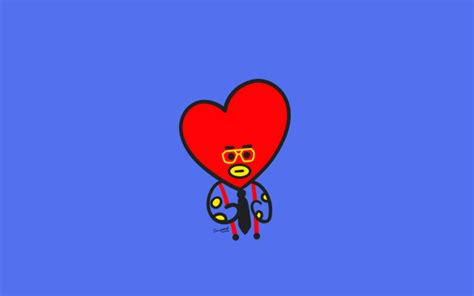 Tata Backgrounds by Bt21 Tata Desktop Wallpaper In 2019 Bts Wallpaper