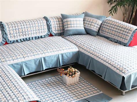 covers l shaped l shape sofa cover acetate fiber lace l shape sofa