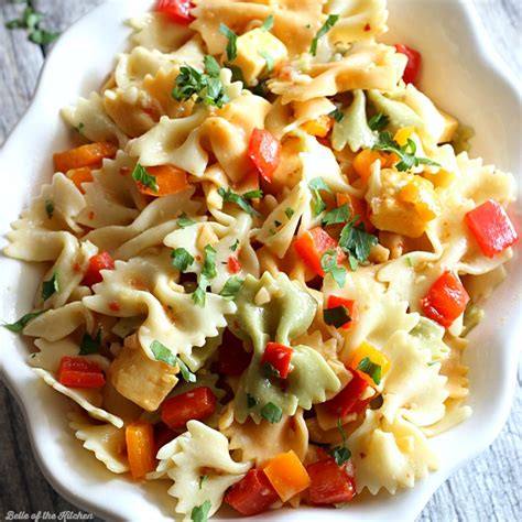 easy pasta salad easy pasta salad recipe belle of the kitchen
