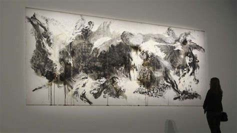 canvas chinese choreographer shen weis paintings  show south china morning post