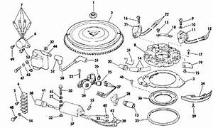 Evinrude Ignition Parts For 1986 30hp E30elcdm Outboard Motor