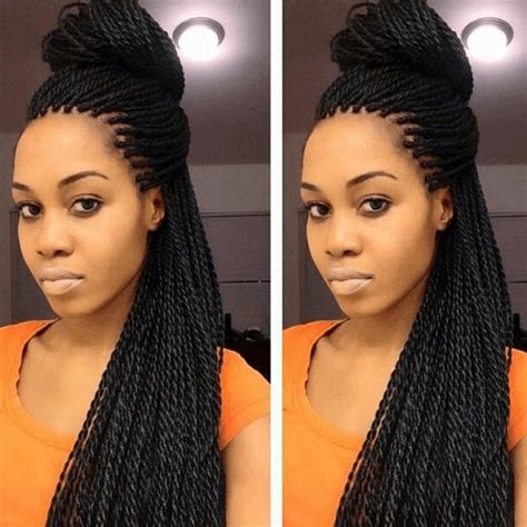 Different Hairstyles For Senegalese Twists by Senegalese Twist Hairstyles How To Do Hair Type Pictures