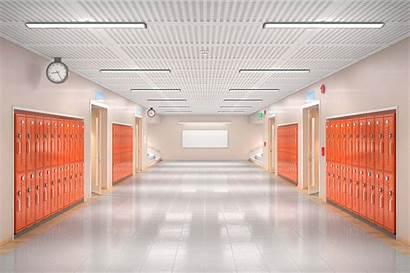 Radio Dance Students Hallway Empty