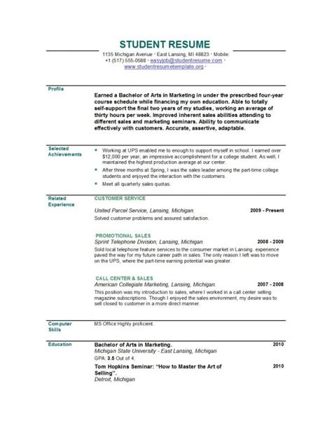 Post Graduate Resume by Resume Exles Recent Graduate Search Office
