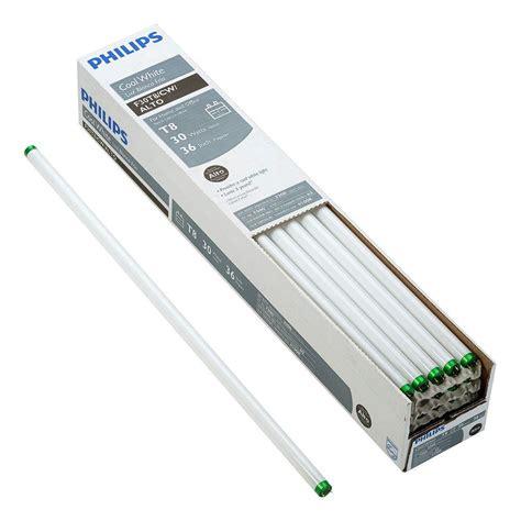 4 l t12 ballast home depot philips 110 watt 8 ft t12 cool white linear fluorescent