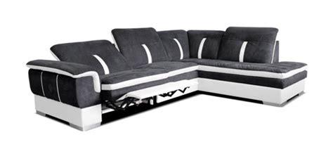 canapé relax électrique canape d 39 angle à droite relax galaxy 2 blanc gris