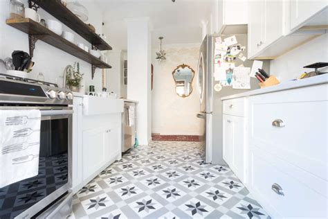 tiles designs for kitchens the pros and cons of cement tiles in the kitchen kitchn 6208