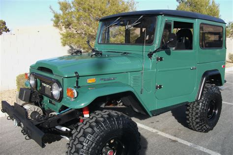 sale rare unique  toyota fj land cruiser