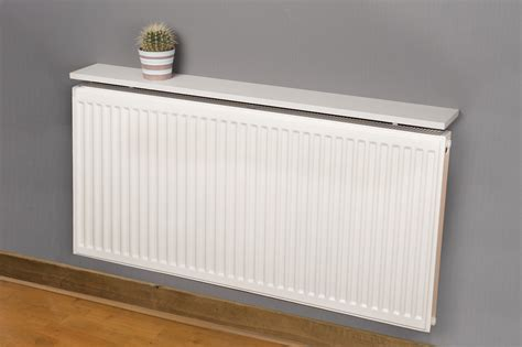 Radiator Cabinet With Shelves by Hacienda White Radiator Shelf 600x150x18mm Square