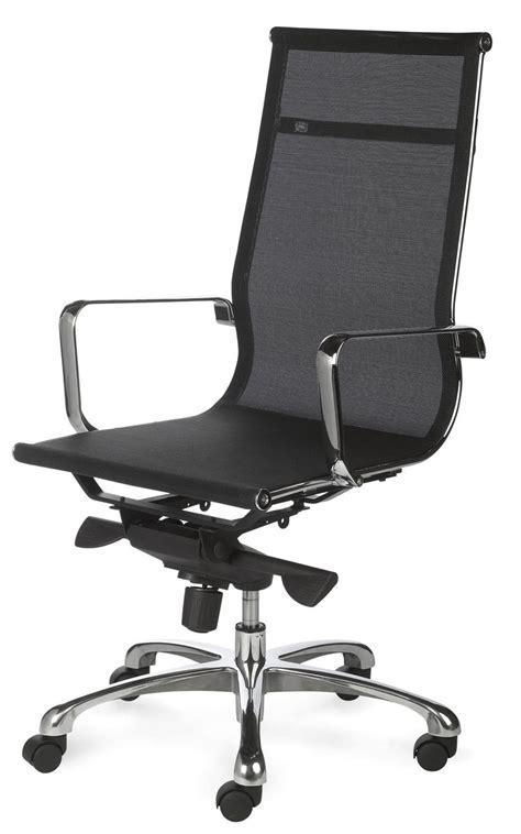 fauteuils de bureaux fauteuil de bureau design tout filet et chromé saumur