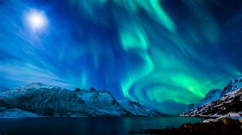 Northern Lights Background Northern Lights Background 183