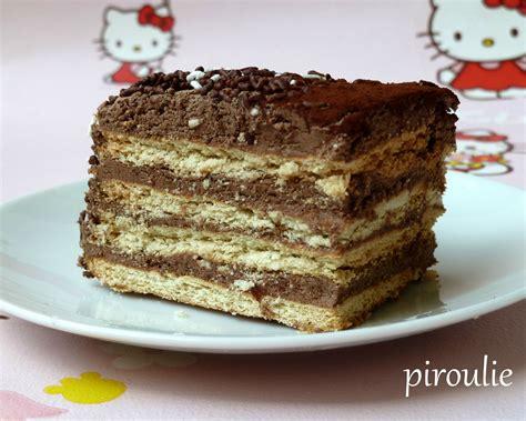 dessert avec petit lu g 226 teau aux petits beurre au chocolat et au caf 233 p 226 tisseries et gourmandises