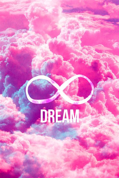 Infiniti Backgrounds by Girly Infinity Symbol Bright Pink Clouds Sky Computer