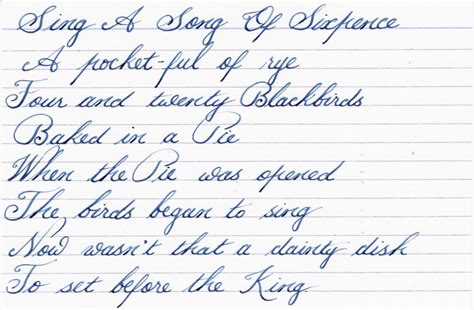 Beautiful English Handwriting Samples  Wwwpixsharkcom  Images Galleries With A Bite