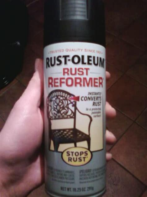 rust reformer rustoleum body