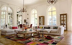 Großes Schlafzimmer Einrichten : modernes funktionelles gro es wohnzimmer einrichten ~ Frokenaadalensverden.com Haus und Dekorationen
