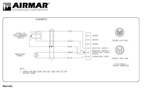 garmin 4 pin transducer wiring diagram 38 wiring diagram