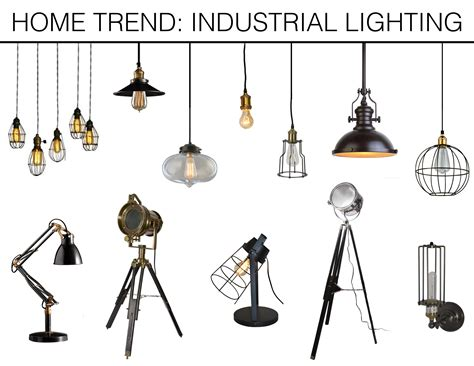 home trend industrial lighting mountain home decor