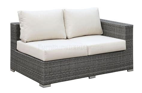 u shaped with ottoman somani cm os2128 4 outdoor u shaped sectional sofa w ottoman